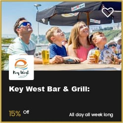 Key West Bar & Grill Bournemouth 15% Off