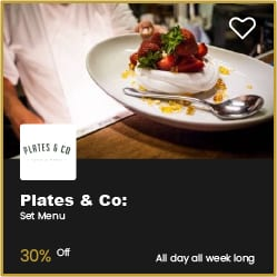Plates & Co Bournemouth 30% Off