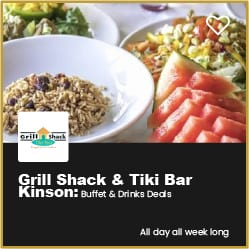 Grill Shack & Tiki Bar Kinson Buffet and Drinks Deals