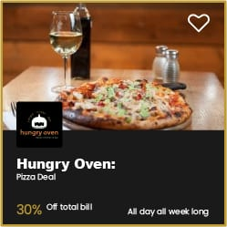Hungry Oven Bournemouth 30% Off