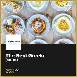 The Real Greek Bournemouth 20% Off