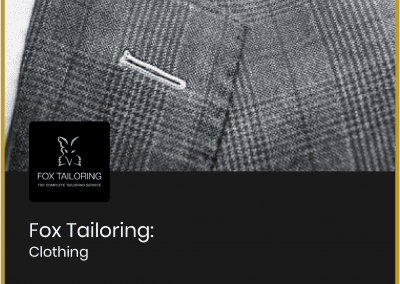 Fox Tailoring – 20% off or…